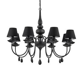 Ideal Lux BLANCHE SP8 NERO (111896)